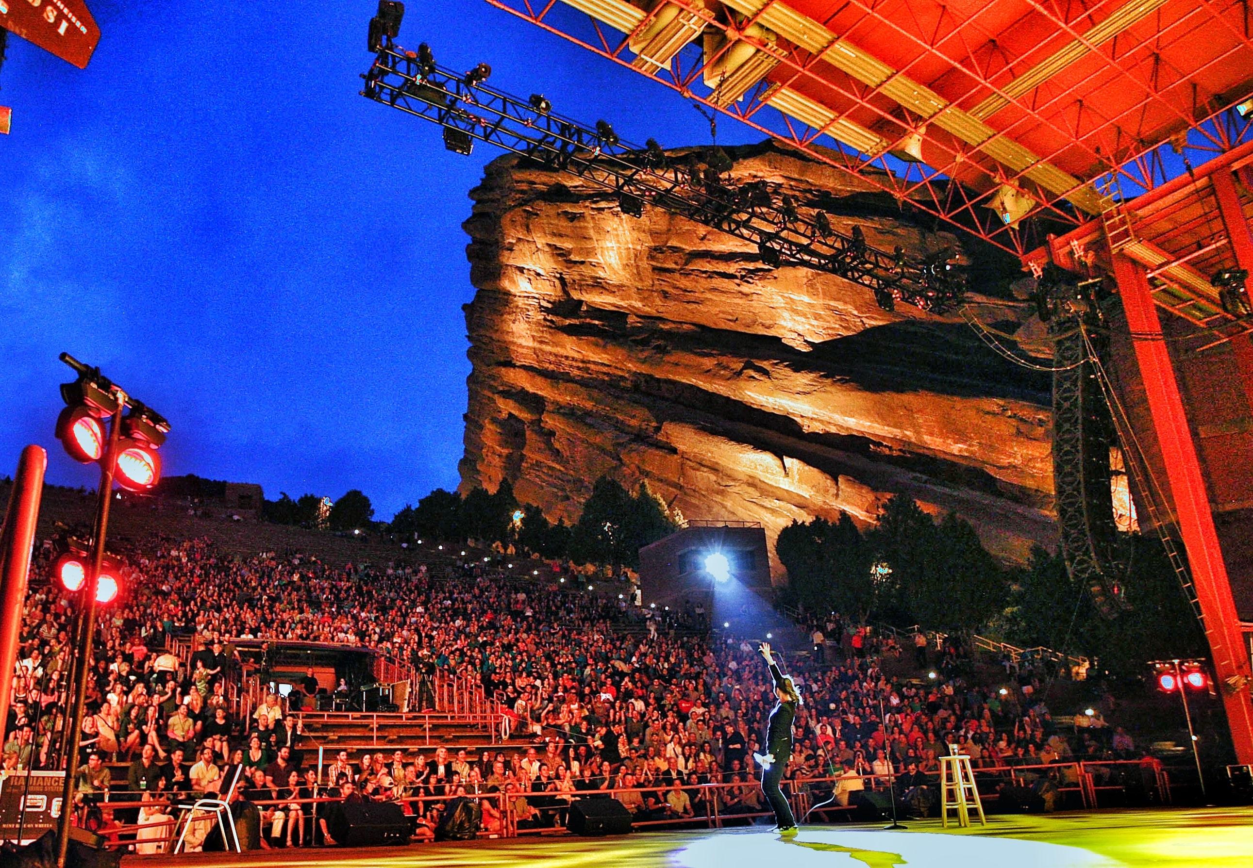 Buy Red Rocks Amphitheatre Concert Tickets For Sale Online